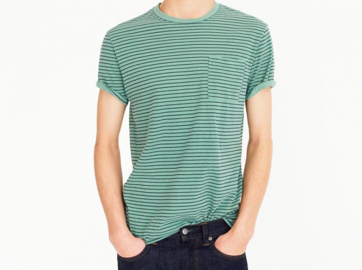 jcrew green tshirt
