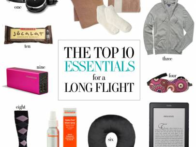 Travel Style: 10 Essentials for Long Flights