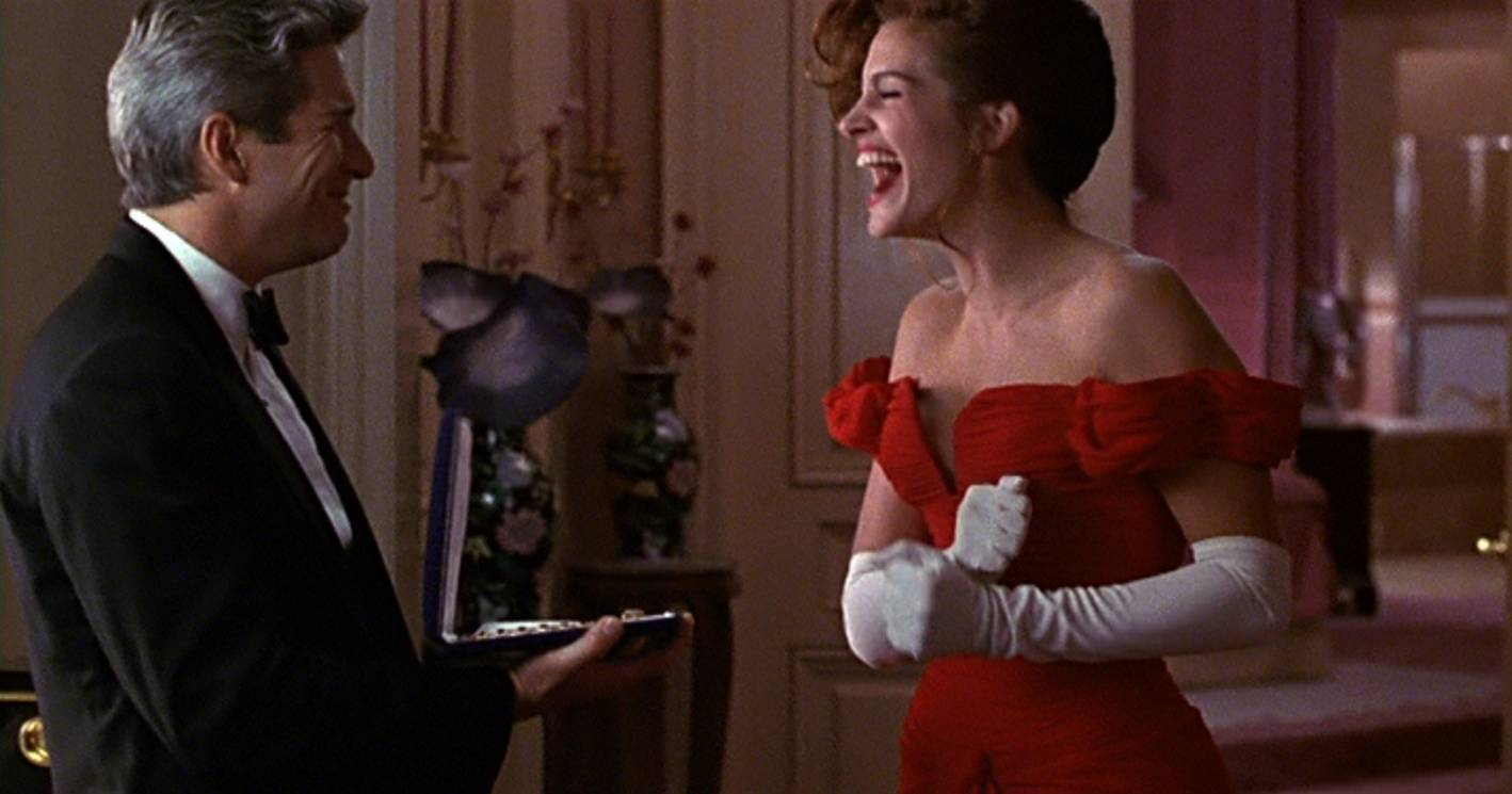 million bucks moment, julia roberts, pretty woman