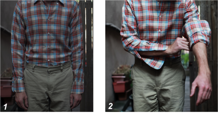 how to roll your shirt sleeves guide