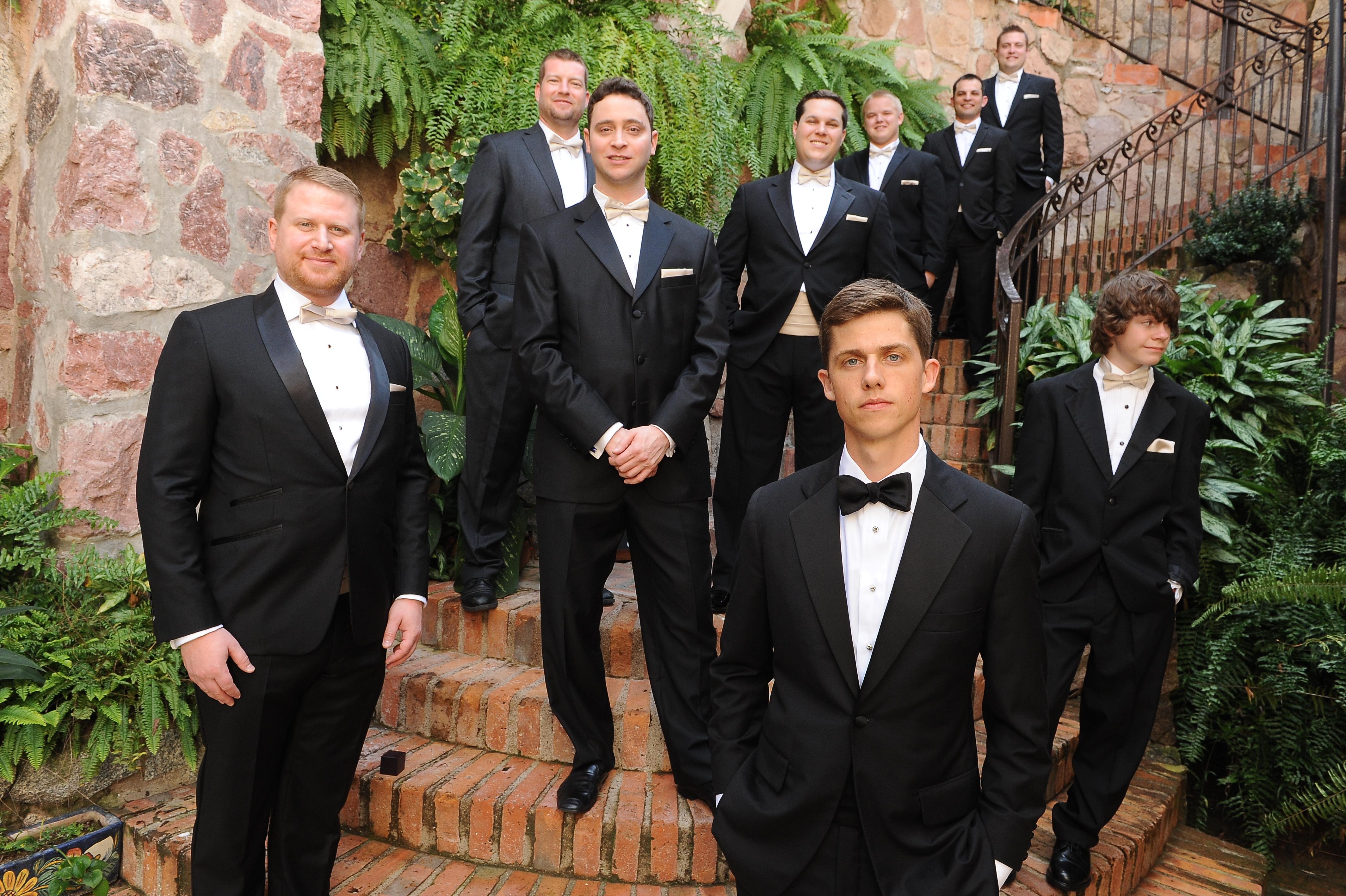 Style Friend Guys Wedding Groomsmen Groom