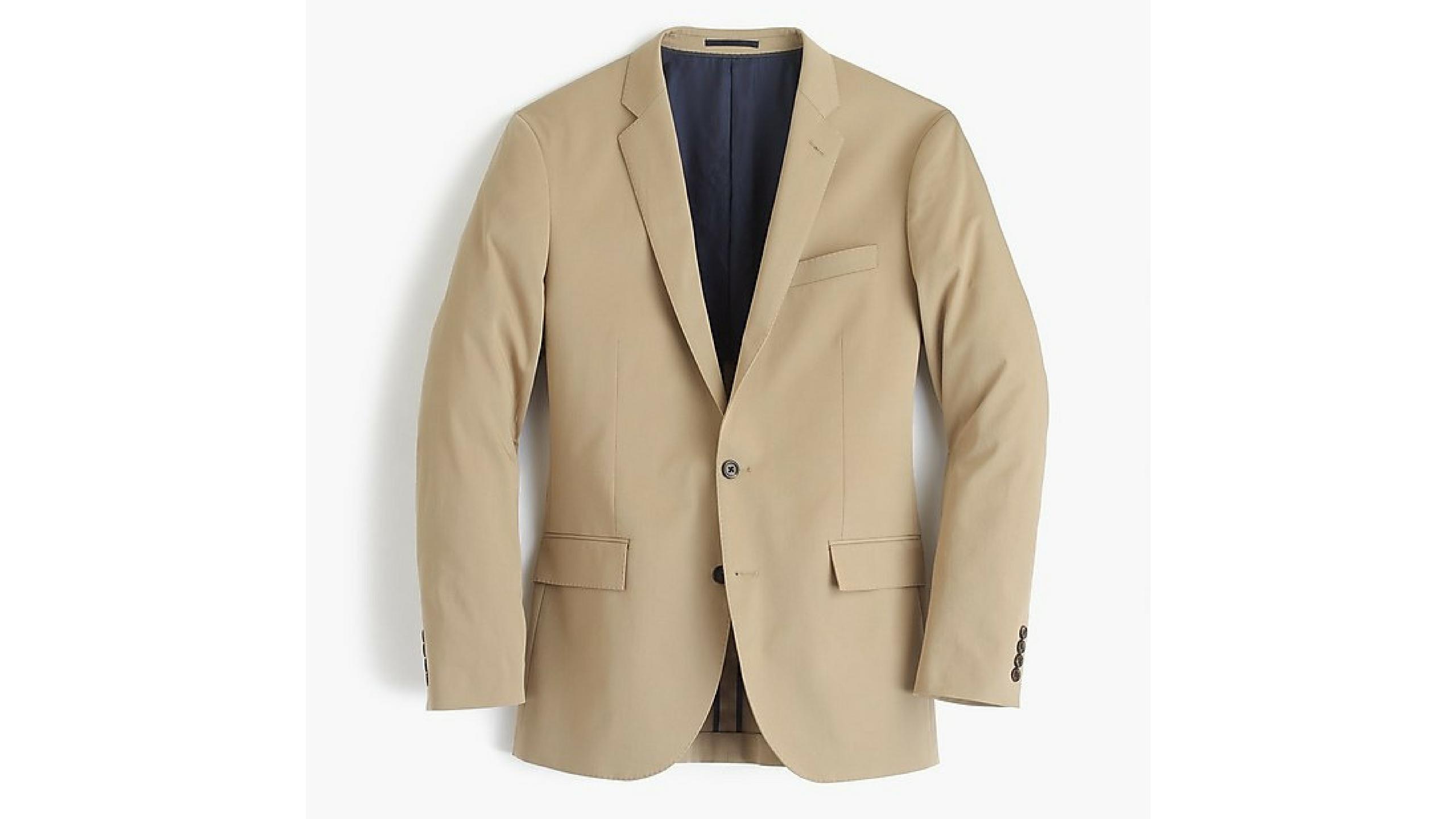 Khaki Suit J.Crew