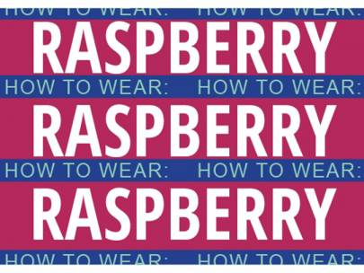 Color Spectrum Style: 3 Ways to Wear Raspberry