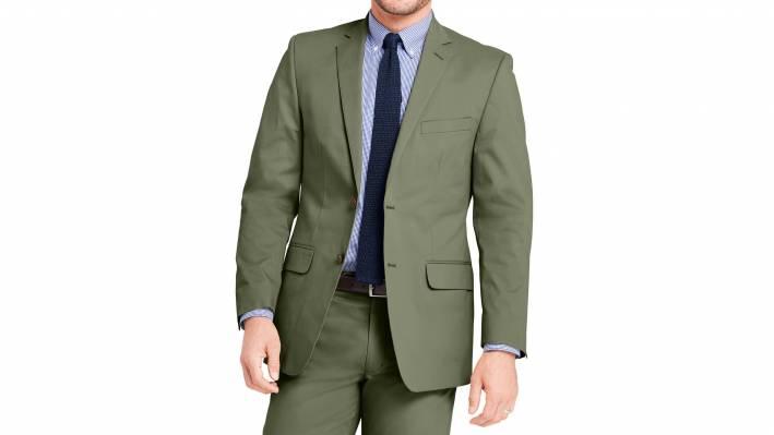 Khaki Suit Green