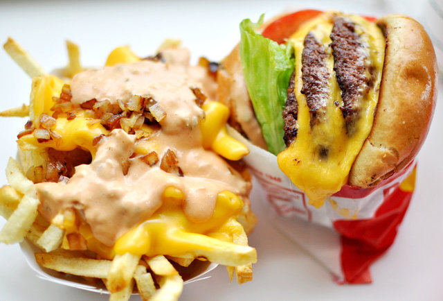 in-n-out burger, burgers