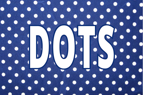 how to wear dots