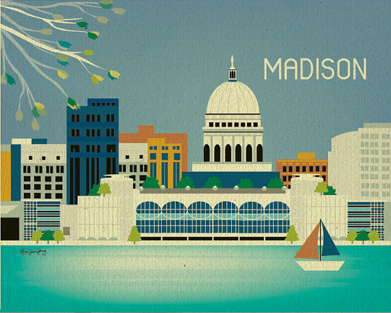Guide to Madison Wisconsin, madison wi, madison wisconsin, madison etsy, madison style girlfriend