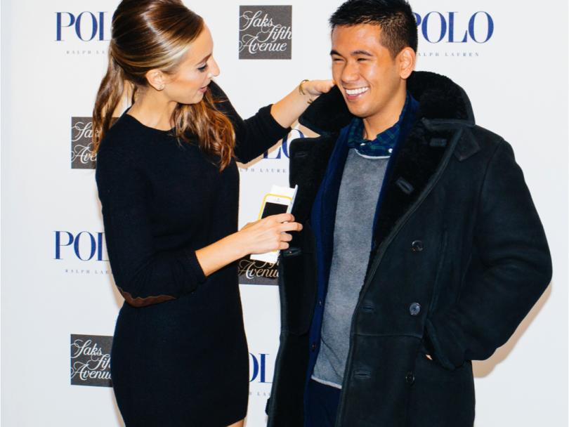 Last Night at Saks with Polo Ralph Lauren and Style Girlfriend