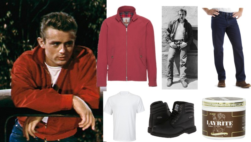 james dean in rebel without a cause - Halloween Costumes Without Dressing Up