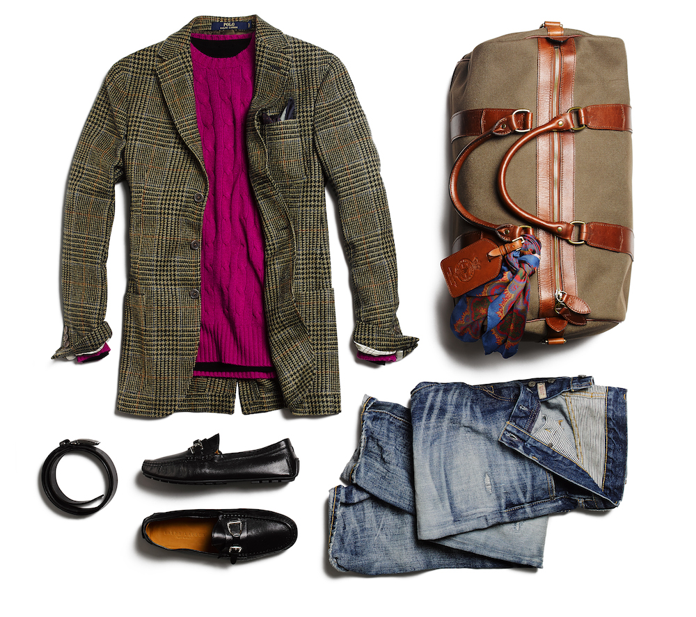 how to wear a sport coat