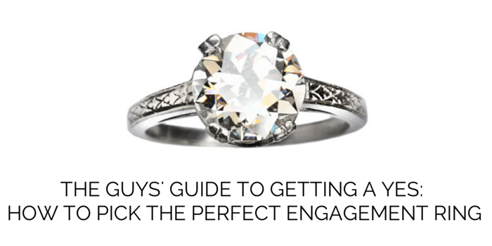 hereu0027s how to pick an engagement ring no jeweler required