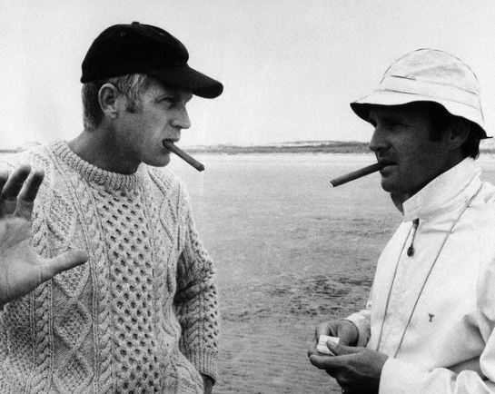 Steve McQueen and Norman Jewison