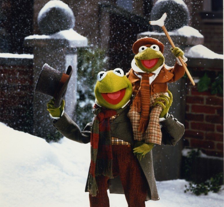 Steal His Look: Kermit The Frog As Bob Cratchit In Muppet