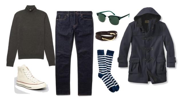 men's turtleneck outfit ideas