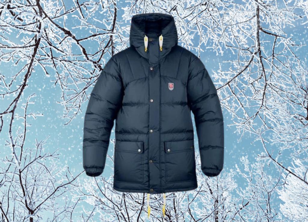 fjallraven-expedition-parka, warm stylish men's winter jackets
