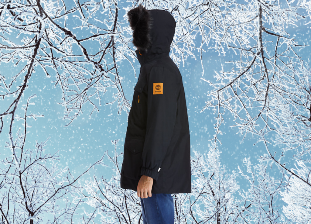 Timberland men's outdoor heritage expedition parka, stylish winter jackets for guys