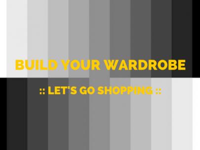 Let's Go Shopping: Black on Black