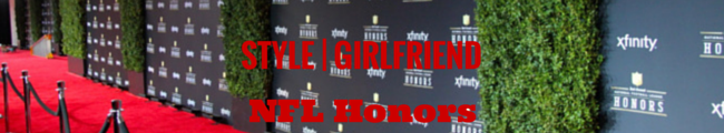 style girlfriend nfl honors, nfl honors, nfl style