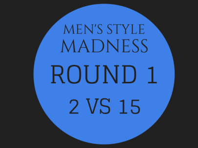 Men's Style Madness: Round 1, 2 VS 15