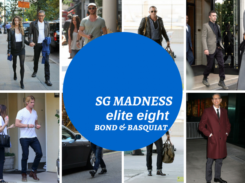 Men's Style Madness: Elite Eight - Basquiat & Bond