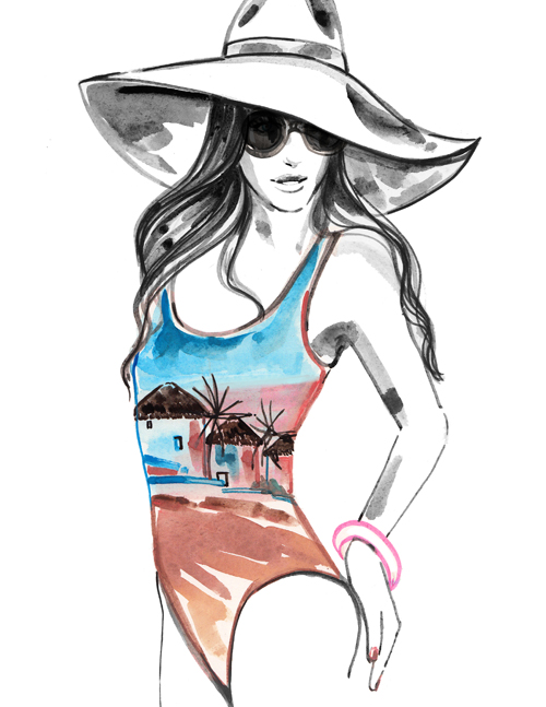 Menswear Fashion Illustration, MeaganMorrison, travel write draw, what a woman wants, what a woman wants style girlfriend