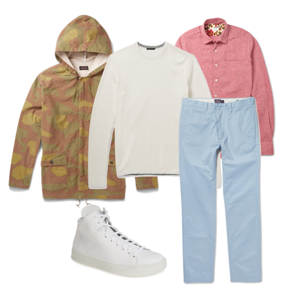 how to wear pastel, guys style pastel, pairing pastels