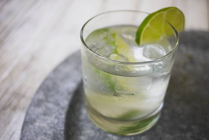 the rickey, spring cocktail