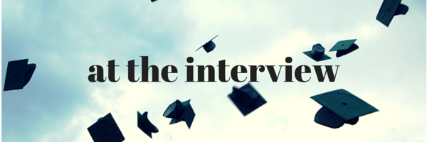 interview tips for college grads