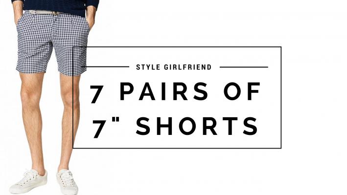 Summer shorts, seven inch short, summer style, shorts