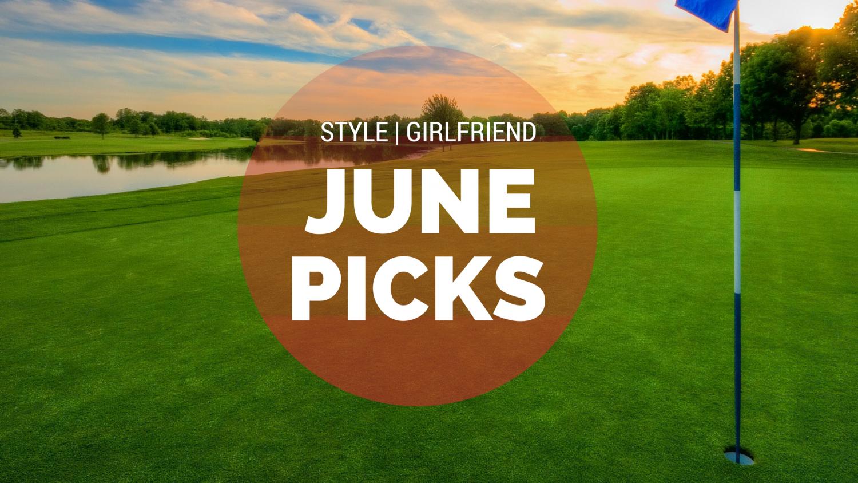 style girlfriend, june picks, men's style, american provenance, golf outfit, indigo, archer, jamie xx