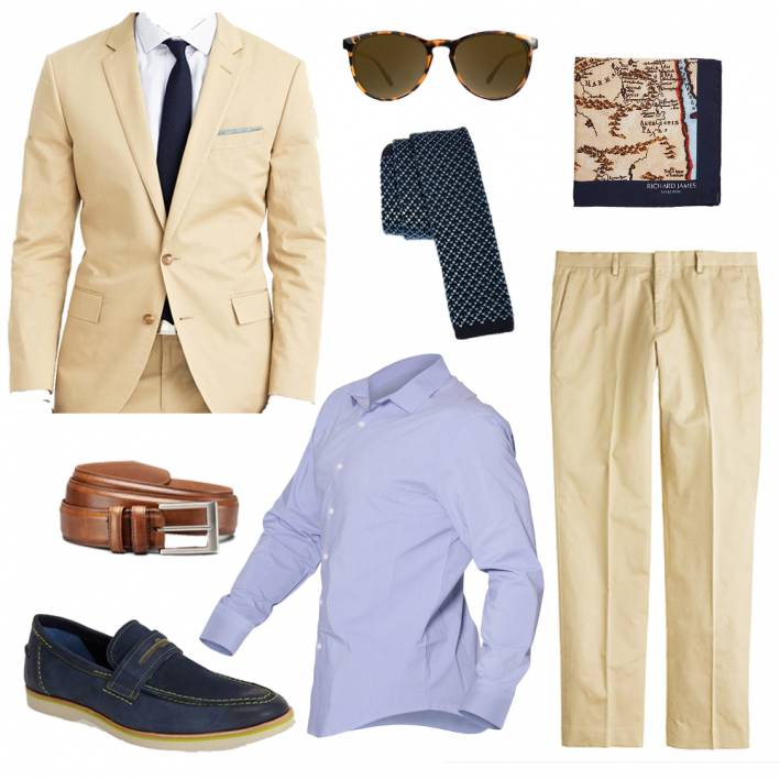 ways to wear a blue dress shirt, men's blue dress shirt, men's work wardrobe, weekday wardrobe
