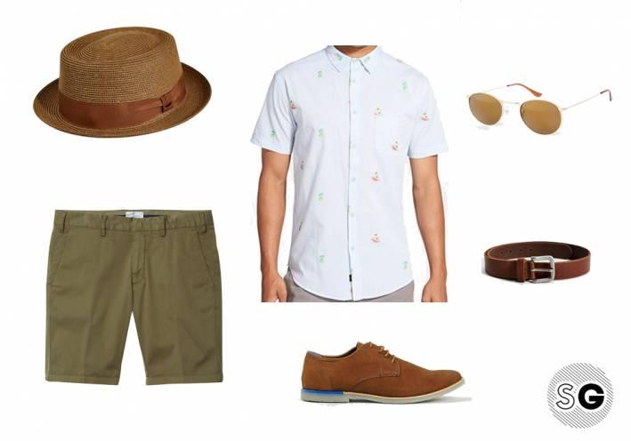 pork pie hat, men's style, men's hat, summer style