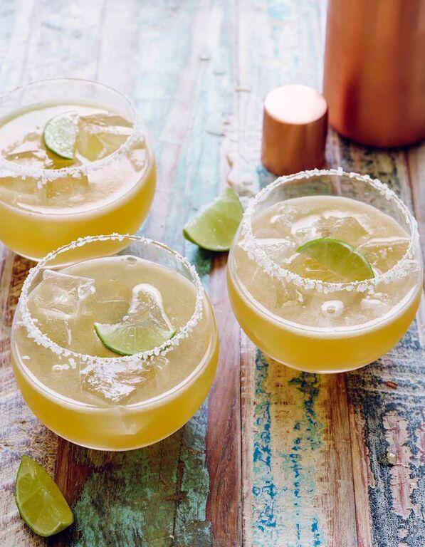healthy drinks, margarita, skinny margarita