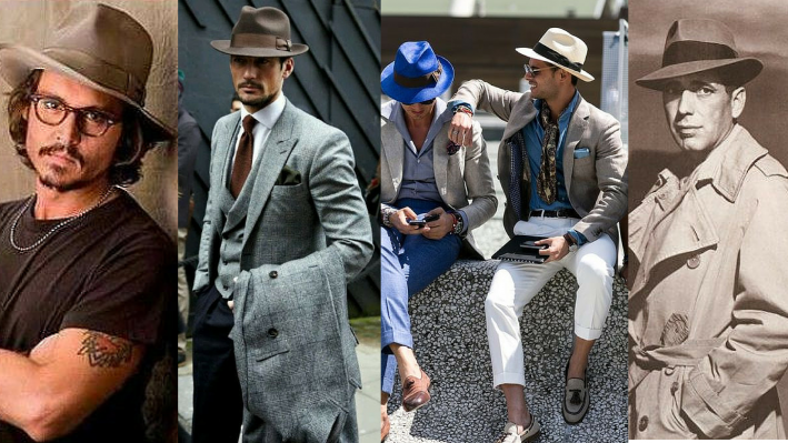 wear it well, men's hats, fedora, summer style