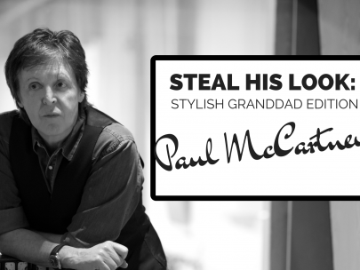 Steal His Look Stylish Grandad Edition: Sir Paul McCartney