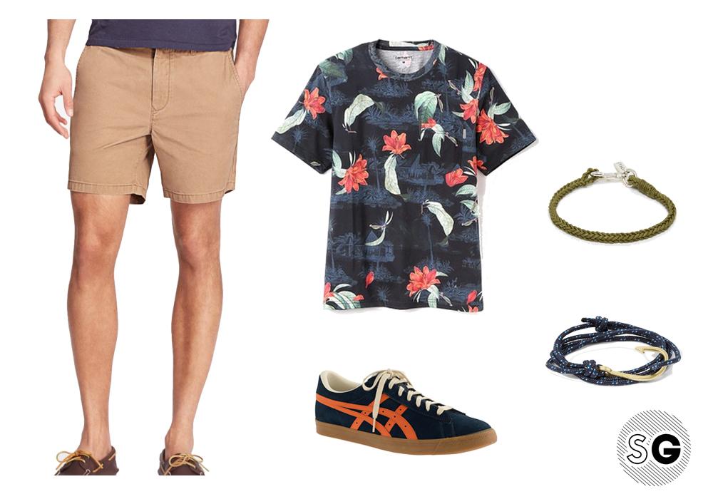 men's bracelets, string bracelets, summer wardrobe, weekend outfit