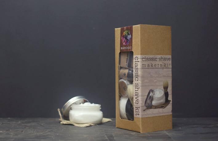 maker's kit, diy, shaving