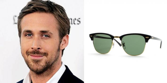 sunglasses, summer style, men's style, sunglasses for face shape, diamond face, celeb style