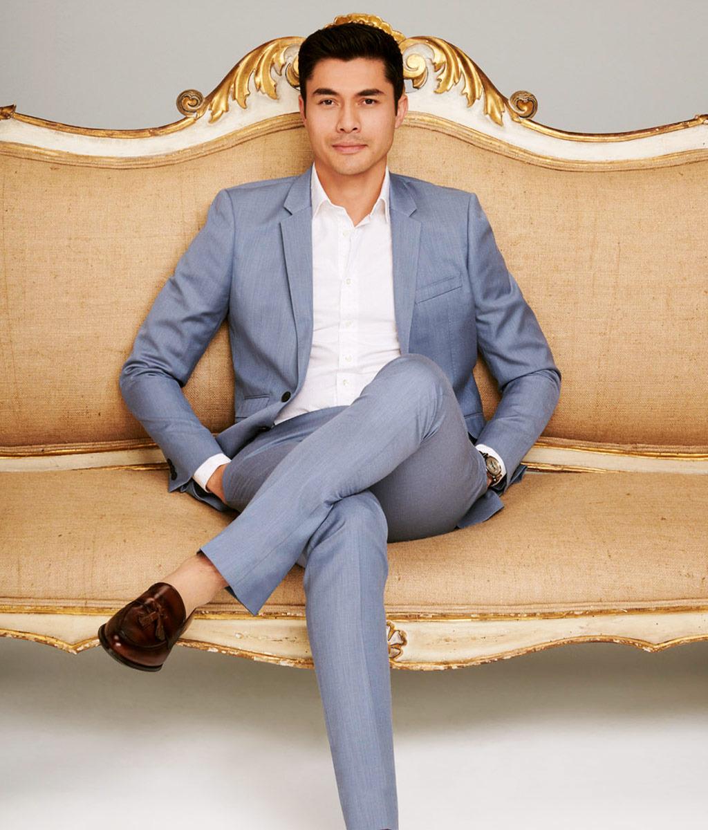 henry golding crazy rich asians style