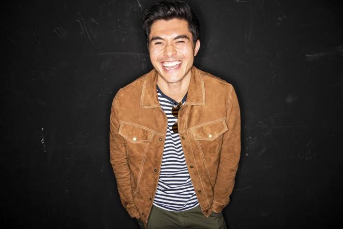 henry golding casual style