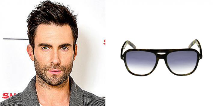 sunglasses, summer style, men's style, sunglasses for face shape, oblong face, celeb style