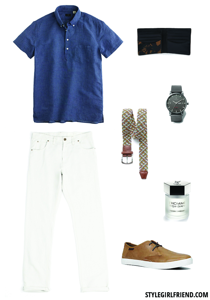 day date, men's style, summer style, weekend, weekend wardrobe, what to wear, popover, billy reid, jcrew, aldo
