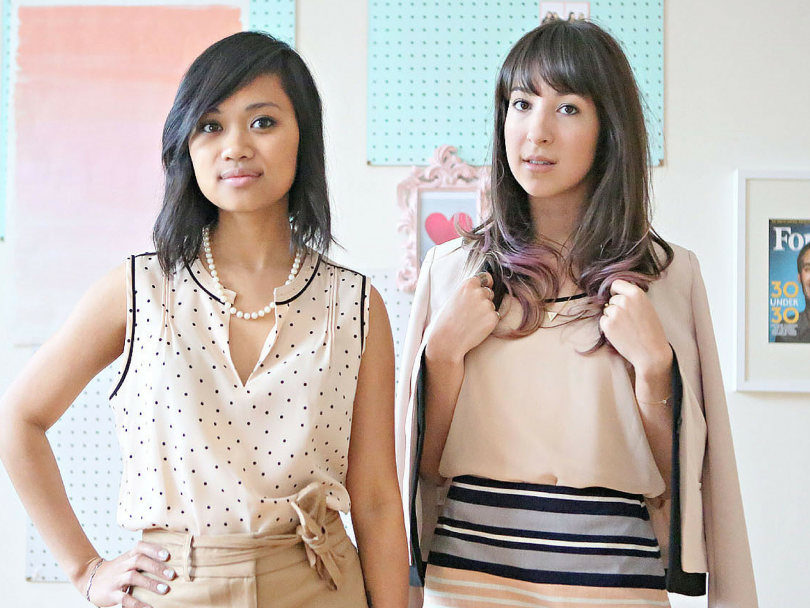 What a Woman Wants: Bianca Caampued and Mallory Blair of Small Girls PR