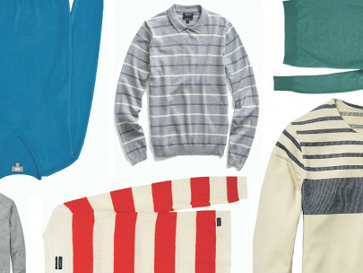 Style Roundup: Summer Weight Sweaters for Guys