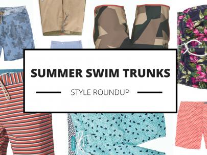 Style Roundup: 15 Swim Trunks for Summer