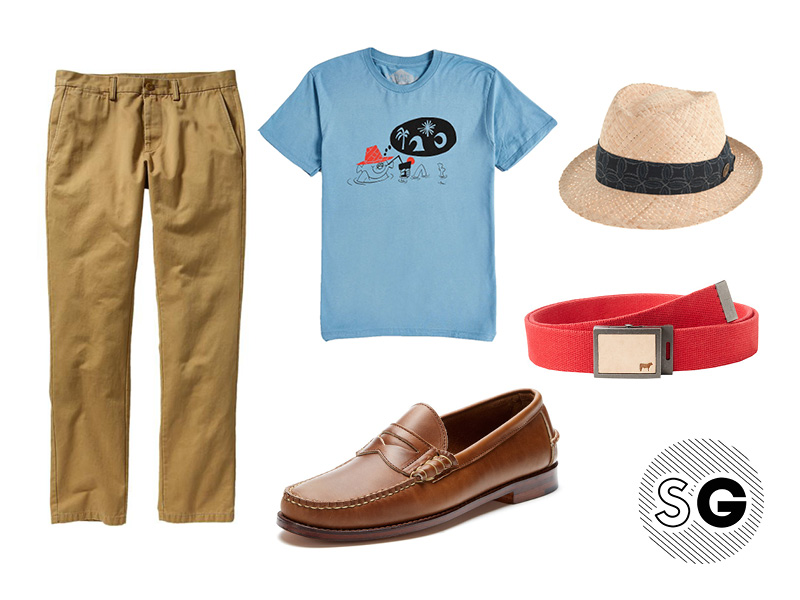 tacotuesday, casual outfit with penny loafers
