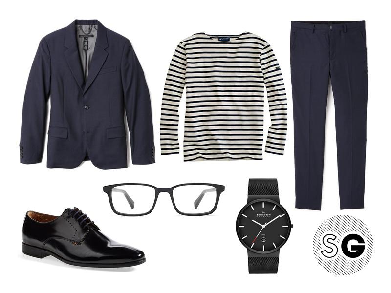 breton stripe outfits for guys