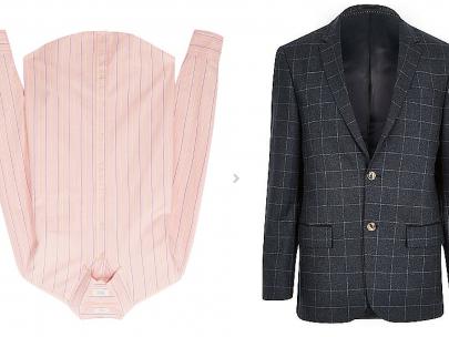 Outfit Inspiration: Check Blazer