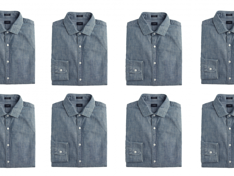 How to Wear a Chambray Shirt This Spring and Summer
