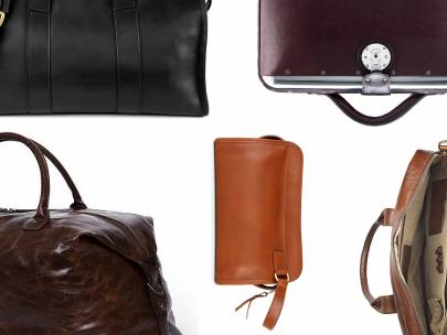 Style Roundup: Men's Leather Bags